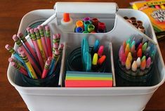 Prepare For The New School Year With Practical Organizational Ideas Prepare For The New School Year With Practical Organizational Ideas The post Prepare For The New School Year With Practical Organizational Ideas appeared first on School Ideas. Back To School Diy Organization, Classroom Organization, Organization Hacks, Household Organization, Classroom Setup, Homework Caddy, Homework Station, The New School, New School Year
