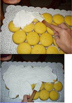 How to Make Cupcake Cakes