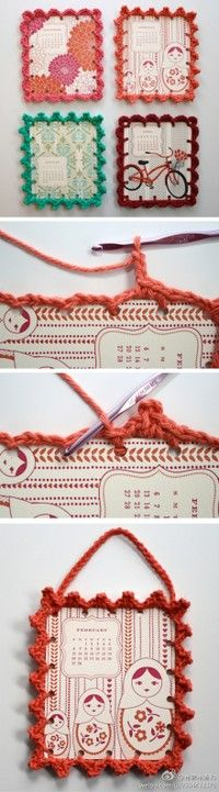 paper and crochet