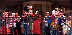 December Daily - Facebook Cover Photo - Mickey & Minnie at Christmas Time