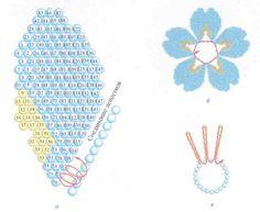 Схемы заколки для волос из бисера «Фантазия» Схемы плетения из бисера своими руками / Бисероплетение: мастер класс для начинающих