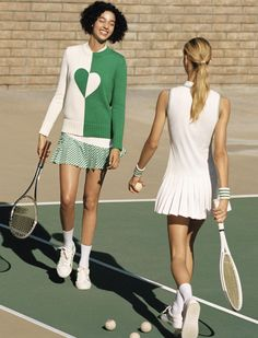 12 Winter Tennis Outfits for Women you will totally love! Tennis Outfits, Tennis Wear, Golf Wear, Tennis Clothes, Golf Outfit, Sport Tennis, Tennis Fashion, Sport Fashion, Women's Fashion