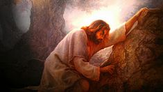 Greg Olsen is such an amazing painter! Pictures Of Christ, Jesus Christ Images, Bible Pictures, Jesus Art, Religious Pictures, King Jesus, Greg Olsen Art, Paintings Of Christ, Jesus Christ