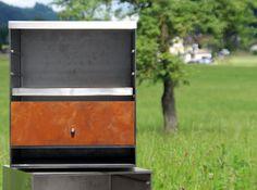 Konfigurierbare Tische,Sitzbänke, Stühle inspiriert durch die Industriegeschichte. Grilling, Outdoor Decor, Home Decor, Tables, Decoration Home, Room Decor, Grill Party, Interior Decorating
