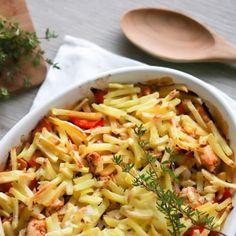 tuntia Food N, Food And Drink, Tasty, Yummy Food, Koti, Recipe Box, Pasta Salad, Macaroni And Cheese, Bird Food