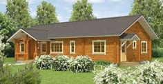 Click to See the Floor Plan of This 11,000 Charming Log Cabin