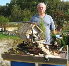 little gnome house.... This is geeat!