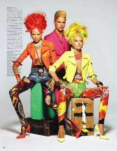 The Versace effect in Vogue Nippon Feb 2012! - Divine LeeDivine Lee