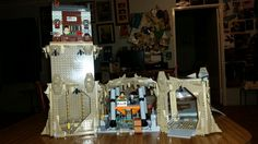 The billman's lego batman 66 batcave. It only has 2500 pieces, and took 3 weeks to build with my wonderful support team.