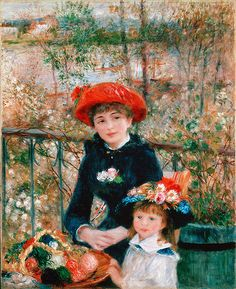 All of the women painted by Renoir are absolutely gorgeous, and this lady in the red hat is no exception.