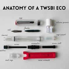 TWSBI ECO is back in stock at bureaudirect.co.uk here's a closer look at what… Hiram Abiff, Product Presentation, Custom Pens, Fountain Pen Ink, Penmanship, Writing Instruments, Notebooks, Planners, Closer