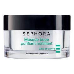 Le masque boue purifiant matifiant de Sephora  #resolutions #beauté #masque #soin #année2017 #maquillage #soins #coiffure #monvanityideal   Plus d'articles sur www.monvanityideal.com