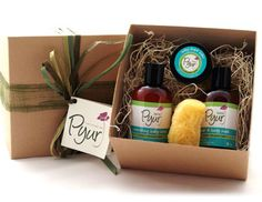 Pyur baby gift set is one great gift for a baby Shower!