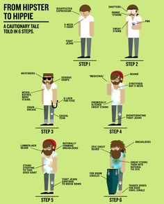 From hipster to hippie « inkiostro