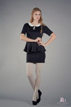 Rose CHeeks Summer 2013 Peplum Dress, Girl Outfits, Brand New, Woman, Rose, Summer, Clothes, Dresses, Fashion