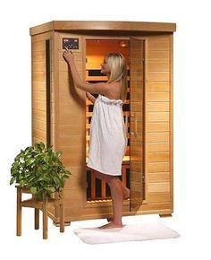 Coronado FAR Carbon Infrared Dry Hardwood Sauna Room w/ Backrests by HeatWave