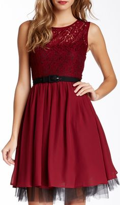 Eva Franco Renee Dress If this dress didn't have the black tulle under it i would buy it in a minute