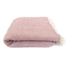 National Trust Beehive Throw, Dusky Pink from National Trust