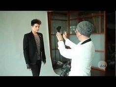 Adam Lambert Behind the Scenes with AOL