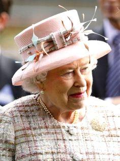 Queen Elizabeth, October 19, 2013 in Angela Kelly | Royal Hats