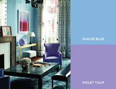 love these colors together! Color Inspiration From Spring's Pantone Runway on the Interior Collective