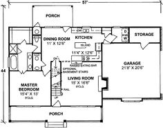 - 40119DB | Country, 1st Floor Master Suite, Bonus Room, CAD Available, PDF, Corner Lot | Architectural Designs