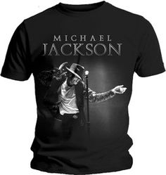 Be the light of their world while rocking this subtle Michael Jackson This Is It Grab Men's T-Shirt featuring the legend on stage.