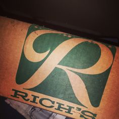 Old Rich's Department store box I found at an estate sale in DeKalb County.