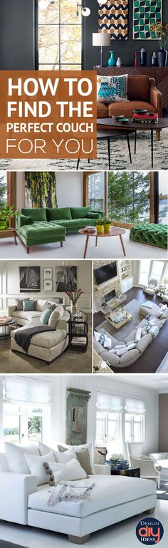 How do you find the perfect couch? Read and learn tips!