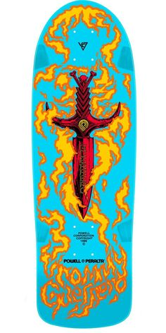 Powell Peralta Tommy Guerrero - I had the original of this - even put  flame-orange grip on it myself to match the flame outlines. 6b58db667bb