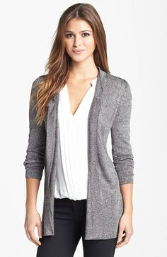 NIC+ZOE Pointelle Cardigan (Regular & Petite) available at #Nordstrom