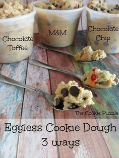 Edible Cookie Dough with simple household ingredients. This is happening. @lovelauren90
