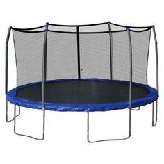 Skywalker Trampoline 17' Oval Trampoline Blue