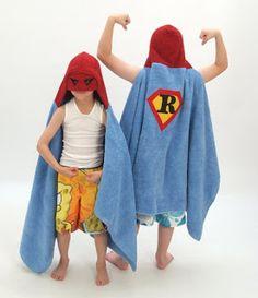 Como hacer una capa toalla o salida de baño infantil (de superheroe) : VCTRY's BLOG