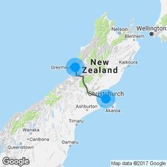around the south island route