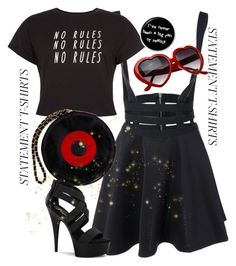 """Miss me?"" by flami-mcr ❤ liked on Polyvore featuring Chanel and Pleaser"