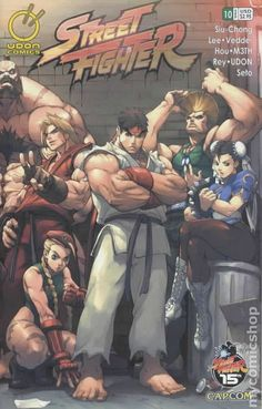 Street Fighter (2003 Image) 10A Image Comics book covers Modern Age