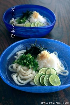 ぶっかけうどん (Bukkake Udon) cold udon noodles with toppings ~ perfect for summer!