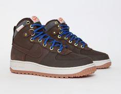 #Nike Air Force 1 Duckboot Brown #Fall #Winter #Sneakers