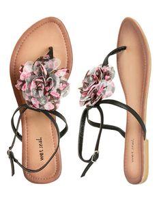 Flower sandles!!