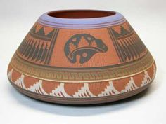 Navajo bear pot