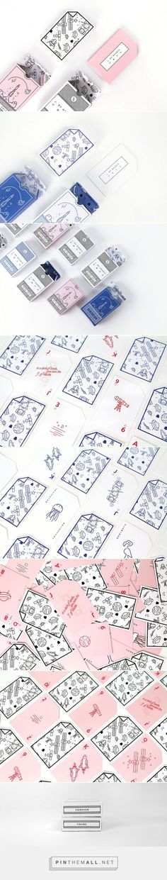 J. of Cards / J. OF HEARTS is a deck of cards designed as a gift by Ioana J. Alfa: