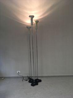 3 lampade di gino sarfatti per arteluce.onsale