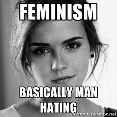 Anti-feminism. I don't think your campaign of equality makes sense when you hate half the population now does it?