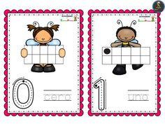Bonitas tarjetas de números del 0 al 10 – Imagenes Educativas Peanuts Comics, Math, Initials, Preschool Math Activities, Kids, Math Resources, Early Math, Mathematics