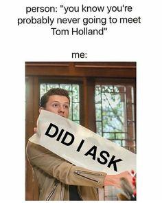 OMG YASSSS #Tom Holland #Spiderman homecoming #Marvel #Tom Holland2013