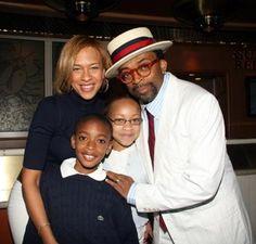 Spike Lee & Family