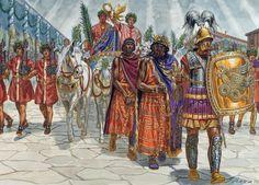 Byzantine victory parade