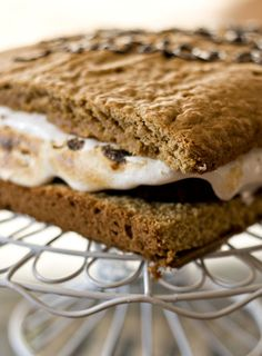 Erica's Sweet Tooth » Giant S'Mores Cake
