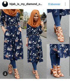 Likes, 70 Comments - Sümeyye Coktan 💍 Onun Yari 💕 ( - Paranex Hijab Dress, Hijab Outfit, Muslim Dress, Abaya Fashion, Modest Fashion, Fashion Dresses, Fashion Muslimah, Muslim Women Fashion, Islamic Fashion